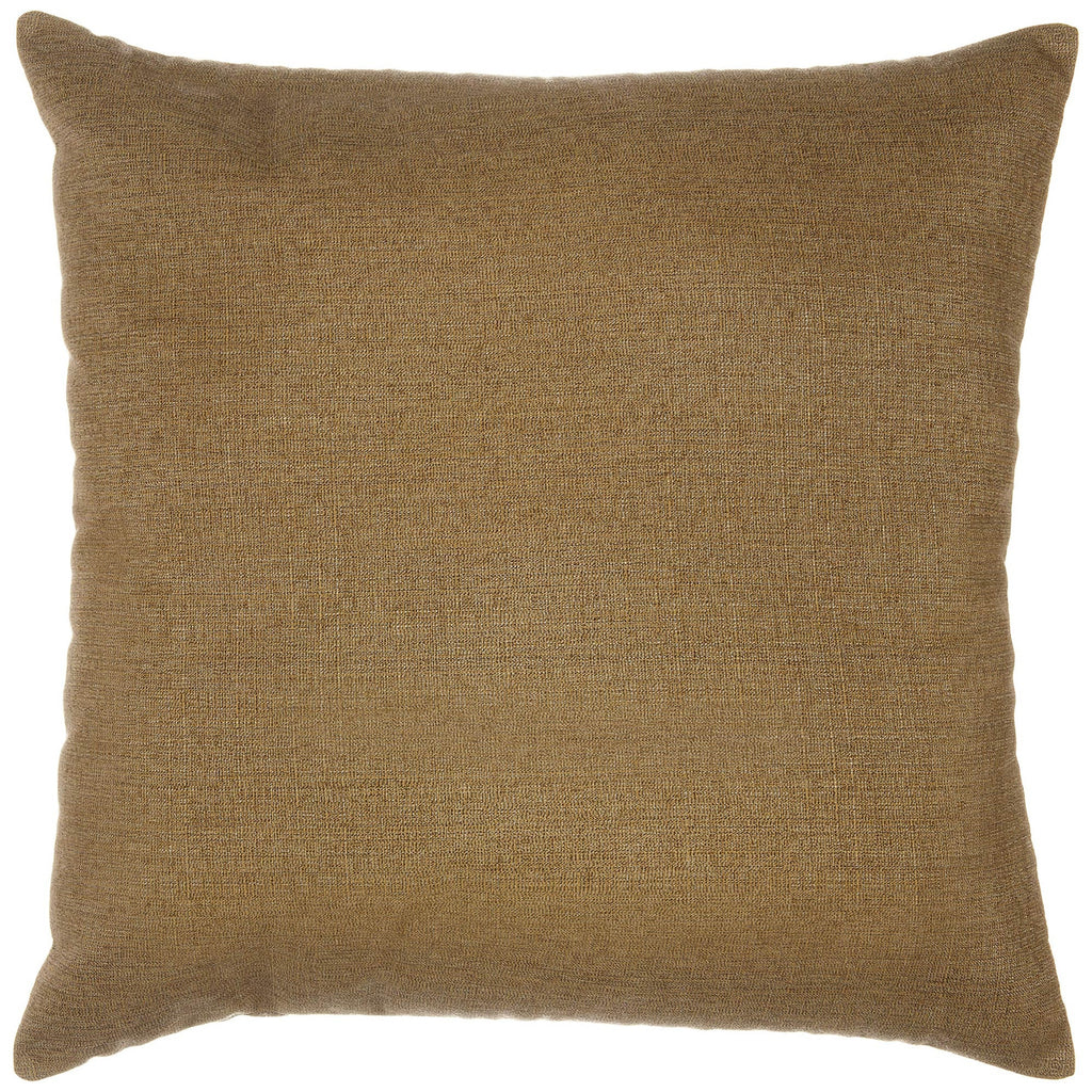 "Sunbrella Outdoor Throw Pillow 24"" x 24"" - Linen Sesame"