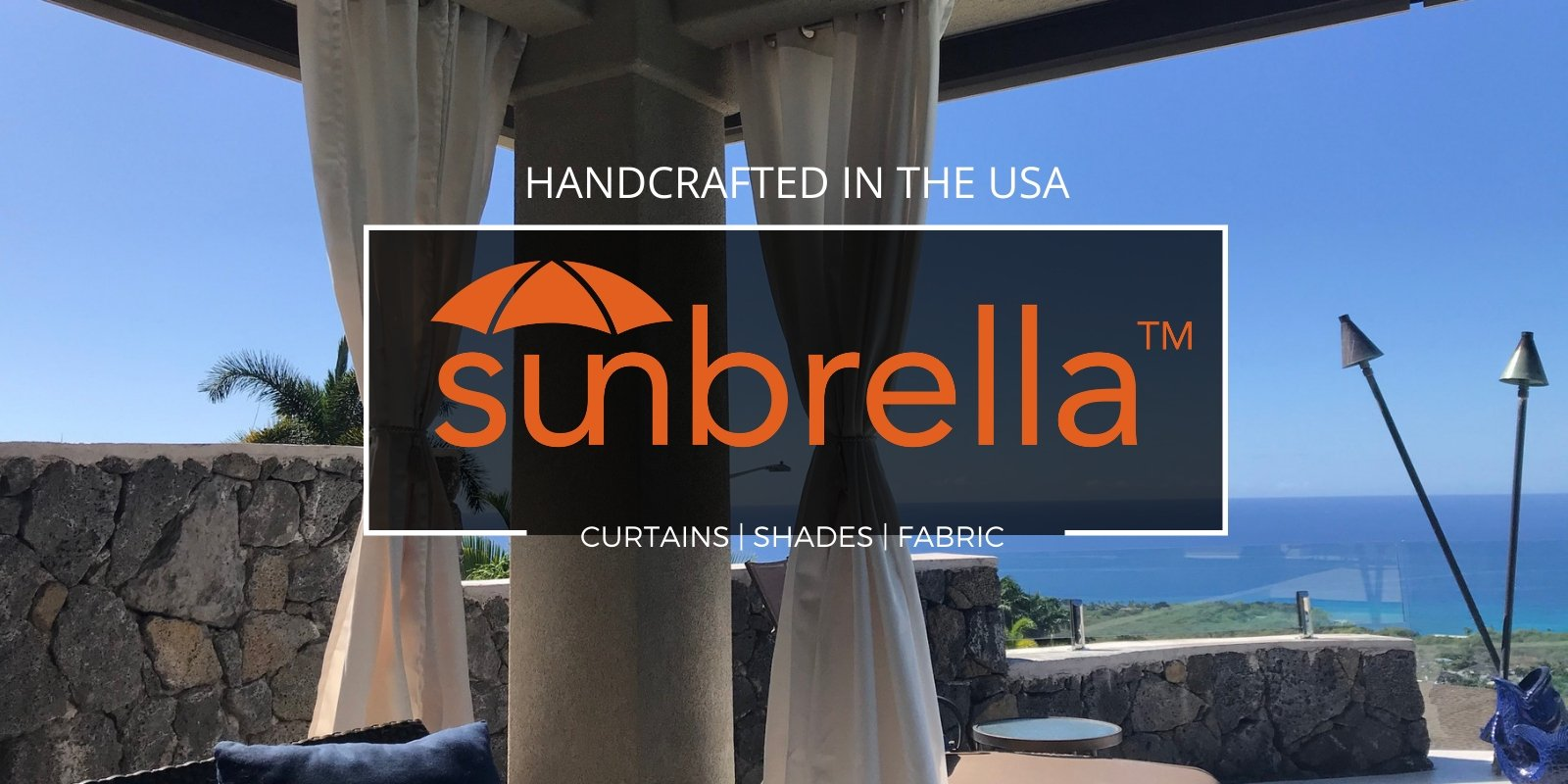 Sunbrella Outdoor Curtains - Handcrafted in the USA