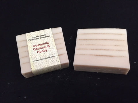 Saltgrass Soapcrafters - Goat's Milk, Oatmeal and Honey