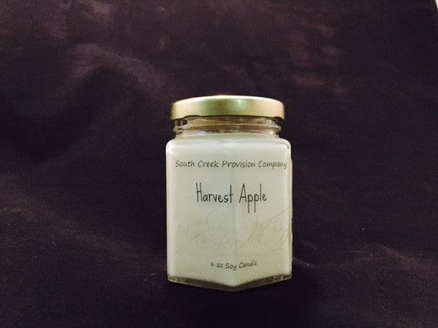 Harvest Apple Hex Jar Candle