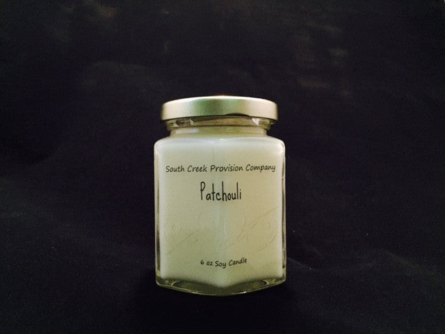 Patchouli Hex Jar Candle