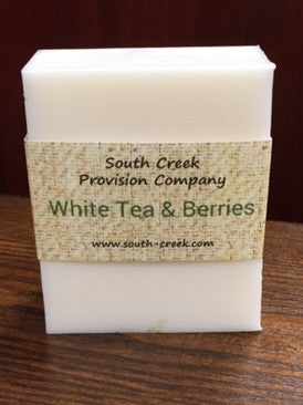 Saltgrass Soapcrafters - White Tea & Berries