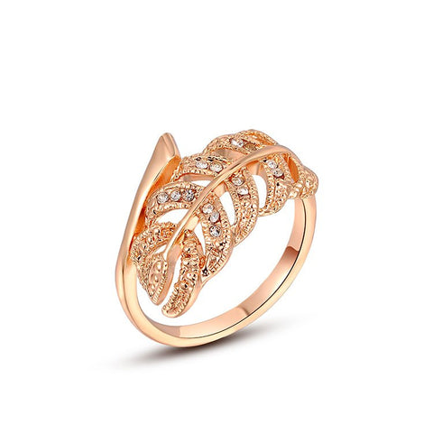 Grace - rose gold plated ring