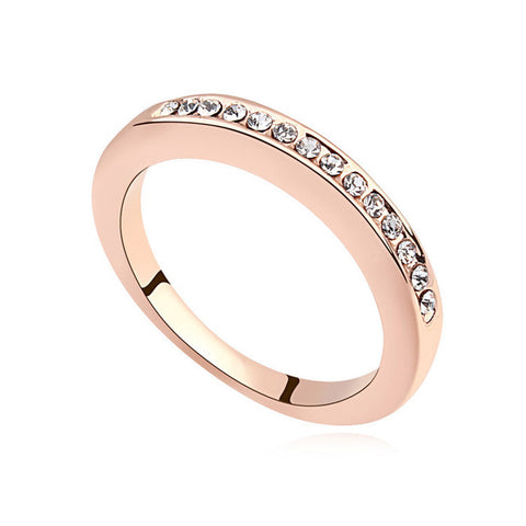 Angela - rose gold plated ring