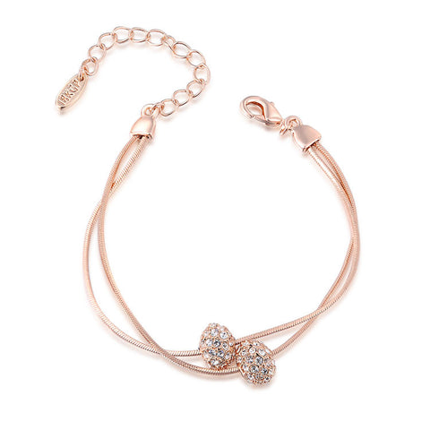 Chloe - rose gold plated bracelet