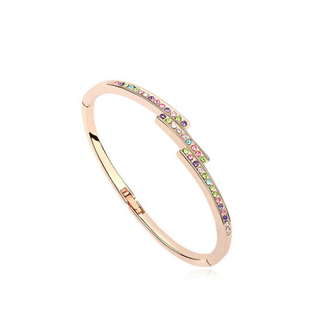 Gabriella - rose gold plated bracelet