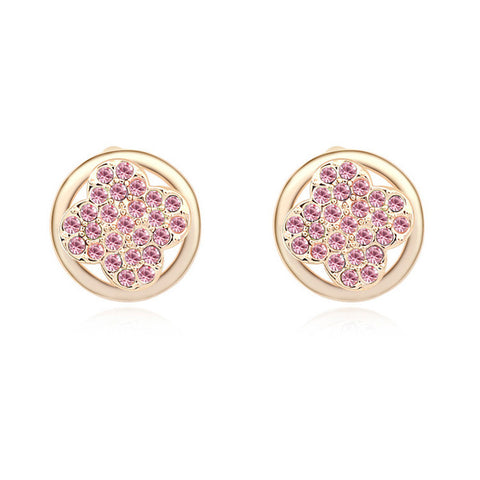 Katelyn - rose gold plated earring