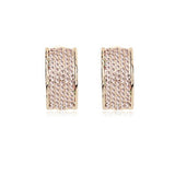 Mary - rose gold plated earring