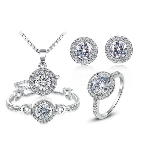 Audrey - platinum plated set