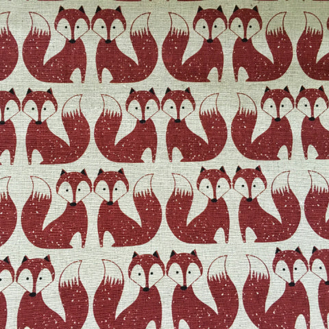 Chalk Hill Fox - Cotton/Linen Mix - Dashwood Studio