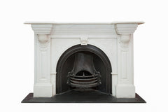 Statuary Carved Marble Victorian Arched Chimneypiece JN 10