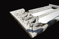 A Rare Granite Architectural Window Tracery W001