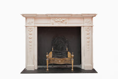 Statuary Marble Georgian Chimney Piece NH 25