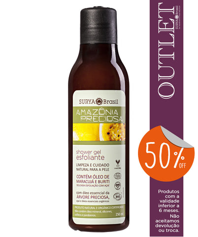 OUTLET 50% OFF Shower Gel Esfoliante Amazônia Preciosa