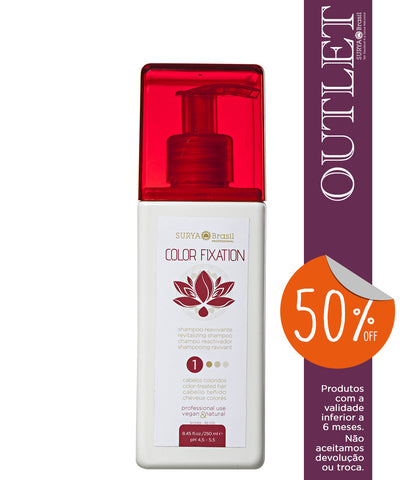 OUTLET 50% OFF Shampoo Reavivante Color Fixation Professional Home Care