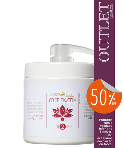 OUTLET 50% OFF Máscara Reavivante Color Fixation Professional
