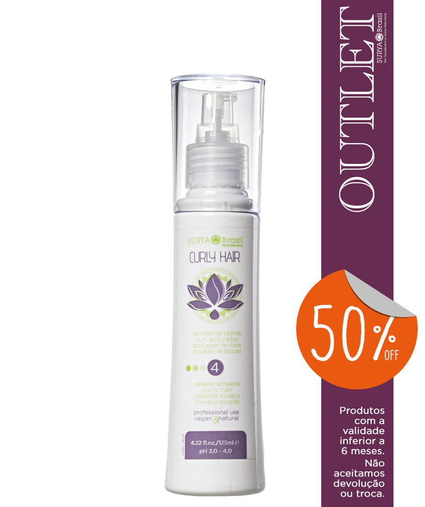 OUTLET 50% OFF Ativador de Cachos Curly Hair Professional