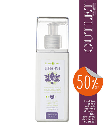 OUTLET 50% OFF Condicionador Nutritivo Curly Hair Professional Home Care