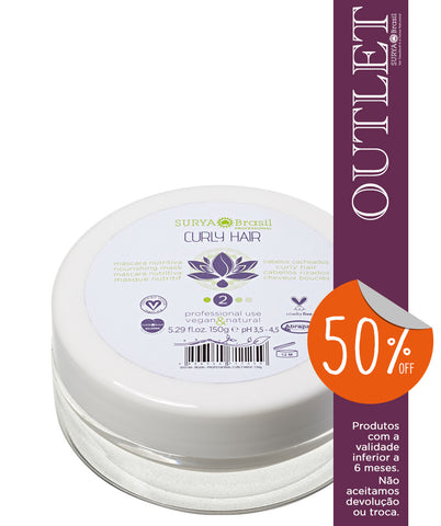 OUTLET 50% OFF Máscara Nutritiva Curly Hair Professional Home Care