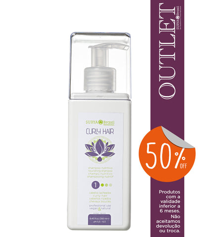OUTLET 50% OFF Shampoo Nutritivo Curly Hair Professional Home Care