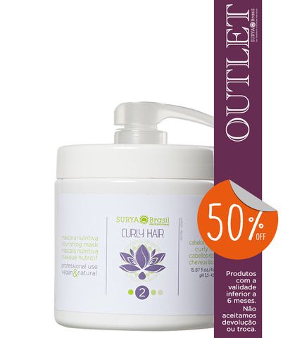 OUTLET 50% OFF Máscara Nutritiva Curly Hair Professional