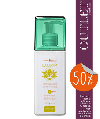 OUTLET 50% OFF Shampoo Refrescante Equilibrium Professional Home Care