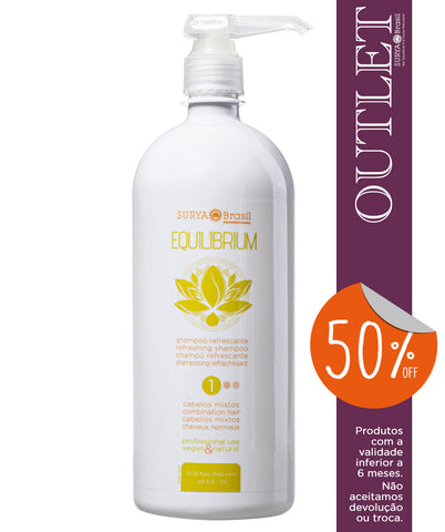 OUTLET 50% OFF  Shampoo Refrescante Equilibrium Professional