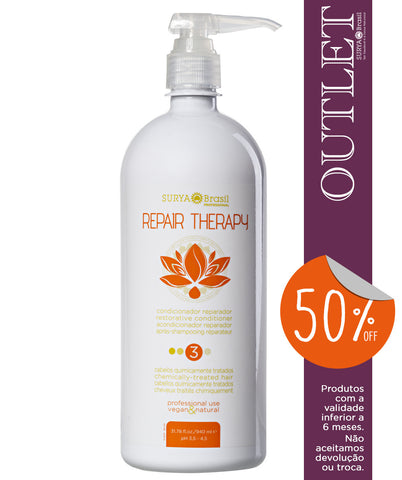 OUTLET 50% OFF Shampoo Reparador Repair Therapy Professional