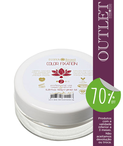 OUTLET 70% OFF Máscara Reavivante Color Fixation Professional Home Care