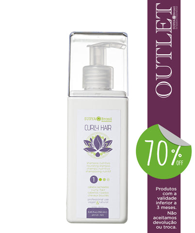 OUTLET 70% OFF Shampoo Nutritivo Curly Hair Professional Home Care
