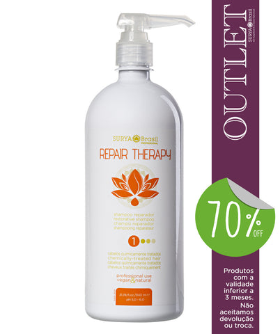 OUTLET 70% OFF Shampoo Reparador Repair Therapy Professional