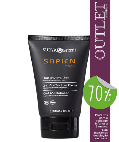 OUTLET 70% OFF Gel Modelador Sapien Men