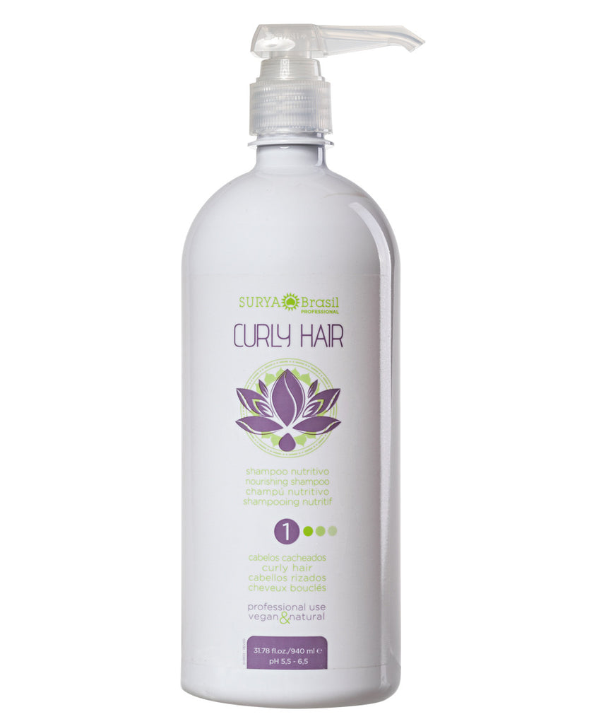 Shampoo Nutritivo Curly Hair Professional