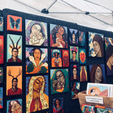 Portland Saturday Market artwork experience