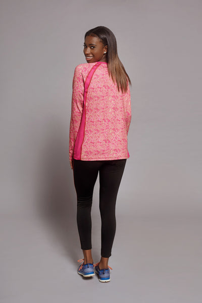 Side of the Raspberry Creative Spark long sleeve