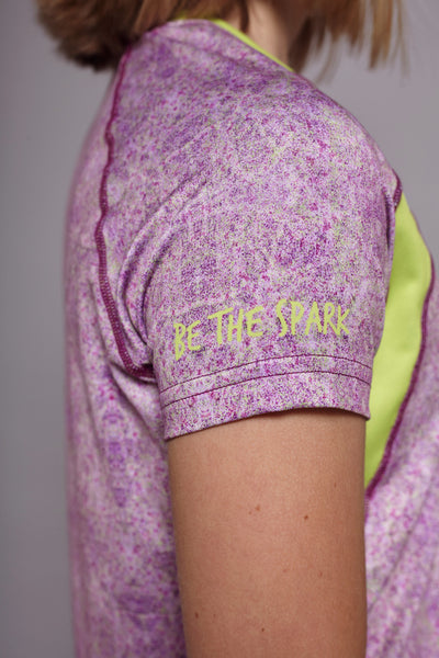 Sleeve of the Purple Kind Spark short sleeve