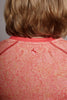 Close up of the back of the Coral Free-Spirit Spark short sleeve