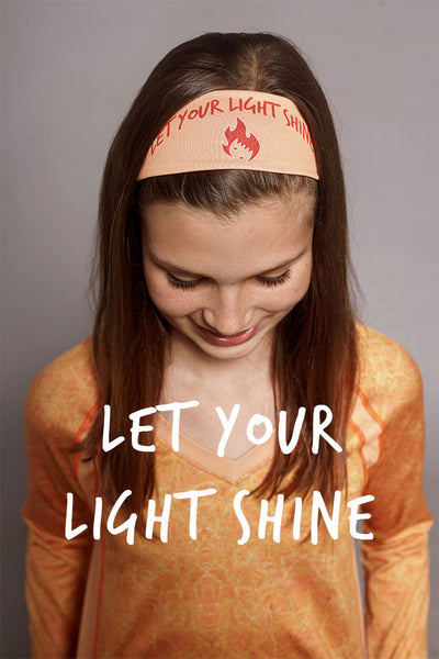 SparkFire Orange Headband