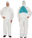 3M Disposable SMMMS Coverall with Hood #4520