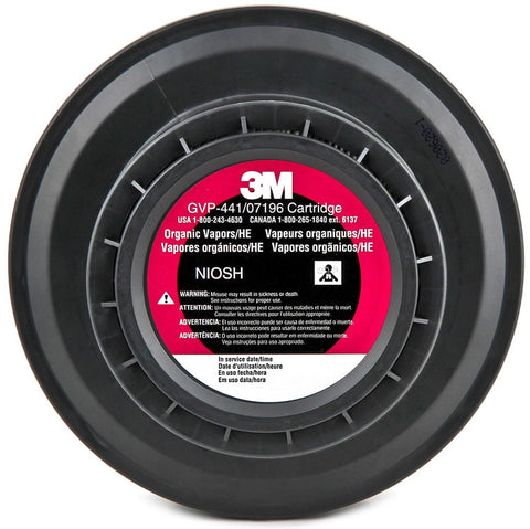 3M Organic Vapor Cartridge #GVP-441/07196