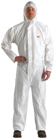 3M Disposable Coverall with Hood #4510-BLK