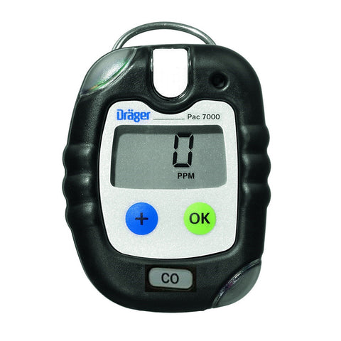 Draeger Pac 7000 CO Gas Monitor #8318970