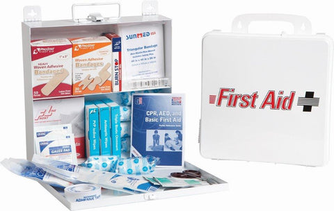 First Aid Kit Plastic #50 Fill Kit #0670