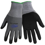 Tsunami Grip Glove, Gray, Small  #500NFT