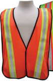 3aSafety HI-VIZ APPAREL All Purpose Mesh Vest Orange #A1400J