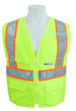3A Safety, HI-VIZ Apparel  Class II Vests #C2941