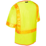 ML Kishigo Ultra-Cool Reflexite Vest, Lime  #1201A