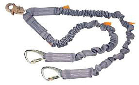 DBI Sala ShockWave 2 100% Tie-Off Tie-Back Shock Absorbing Lanyard  #1244675