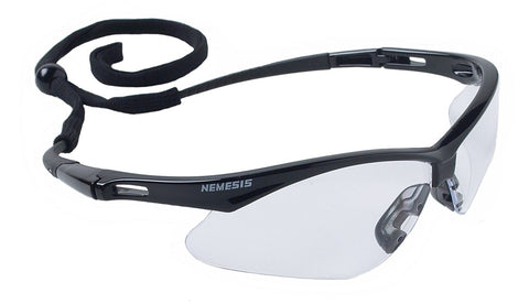 Jackson V30 Nemesis Safety Glasses. Clear Lens #25676