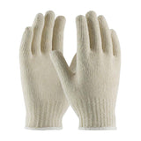 PIP Economy Weight Seamless Knit Cotton/Poly Glove White  #35-C103